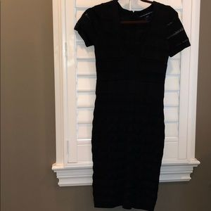 French Connection body con knit dress